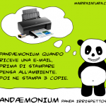Pandaemonium e la stampante