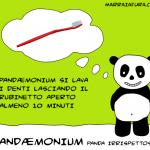Pandaemonium e l'igiene orale