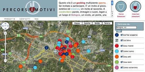 Il geo-blog della Città di Bologna - Percorsi emotivi