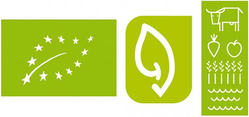 Concorso Logo Biologico UE: Logo 1 - Logo 2 - Logo 3