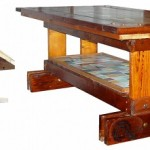 <b>Design sostenibile</b>: in mostra vicino Roma i tavoli realizzati con materiali di recupero