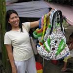 <b>Quando il riuso è anche equo e solidale.</b> <br>A Manila un progetto etico per donne disagiate