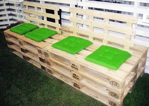 Design sostenibile eco arredo con il riuso del pallet for Pallet arredo giardino