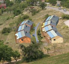 Eva eco villaggio autocostruito progettazione e for Stufa autocostruita