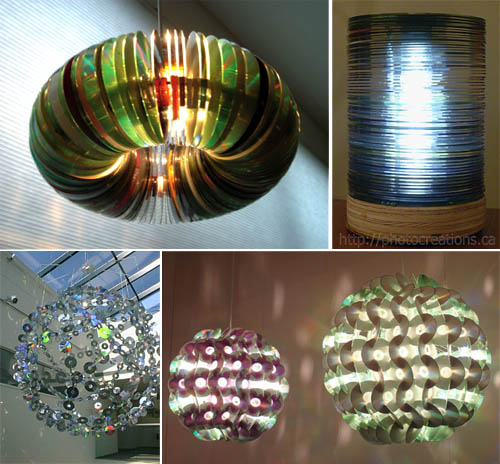 CD lamp by Inna Alesina