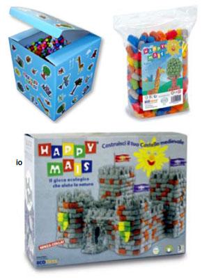 Happymais - gioco ecologico in Mater-Bi