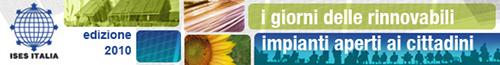I Giorni delle Rinnovabili 2010 – Impianti Aperti ai Cittadini