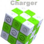 <b>Magic Charger. </b><br />Energia pulita col Cubo di Rubik. <br />Più sei scarso, più ne produci!