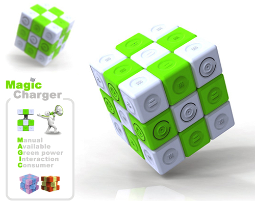 Magic Charger - Energia pulita col Cubo di Rubik