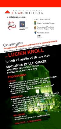 Progettare la normalità attraverso la partecipazione - Lucien Kroll