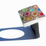 <b>Gioielli fatti di matite colorate. </b><br />Da strumento della creatività a pura e semplice arte.
