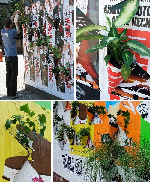 Poster Pockets Plants
