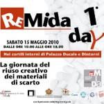 Riuso creativo dei materiali di scarto. <b>Il 1° Remida day a Genova. </b><br />Sabato 15 maggio 2010