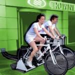 A Copenaghen se pedali mangi gratis! <br />Un buono da 24 euro con 6 minuti di cyclette