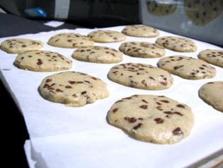 I biscotti cucinati in un forno solare alternativo (l'automobile!)