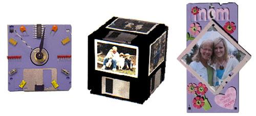 floppy portafoto