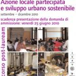 <b>Azione locale partecipata e sviluppo urbano sostenibile. </b>10a edizione del corso di perfezionamento IUAV