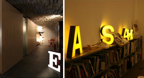 Belle e sostenibili: sono le lampade realizzate con le lettere delle insegne.
