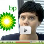 La BP e la fuoriuscita di caffè. <br />Il video <b><i>BP Spills Coffee</i></b> [in Italiano]