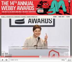 Webby Awards 2010: il Green Porno di Isabella Rossellini