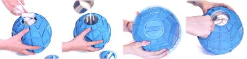 Ice Cream Ball. La sfera per fare il gelato... giocando a palla!