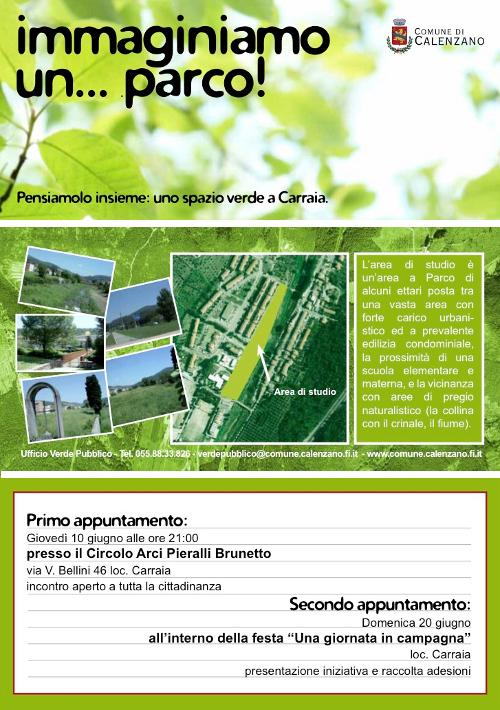Progettazione partecipata a Carraia (Firenze)