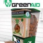 <b>Guerrilla gardening. </b>Dagli Stati Uniti il distributore automatico di SeedBomb, le bombe di semi e argilla