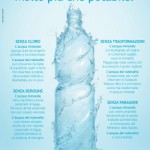 <b>L'acqua minerale in bottiglia è meglio di quella del rubinetto! </b><br />Parola di chi ci guadagna