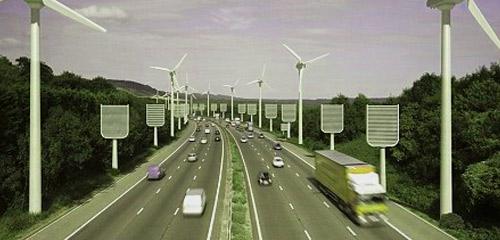 alberi sintetici puliscono l'aria dall'anidride carbonica