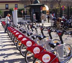 biciclette pubbliche a Siviglia