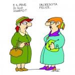 <b>Altan e la decrescita felice.</b> La vignetta pubblicata sull'Espresso