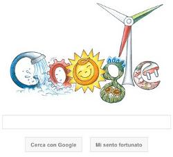 Doodle per Google l'Italia tra 150 anni