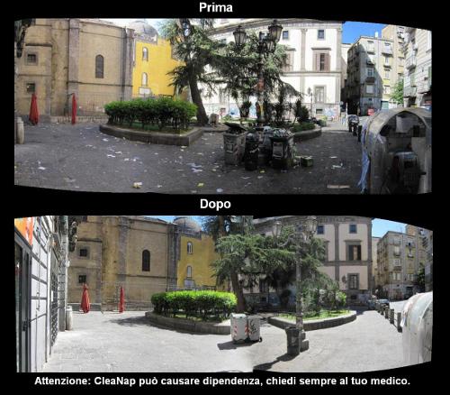 Cleanap Piazza Pulita Napoli 03