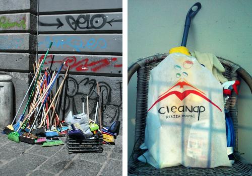 Guerrilla di civilt il progetto cleanap per pulire for Clean significato