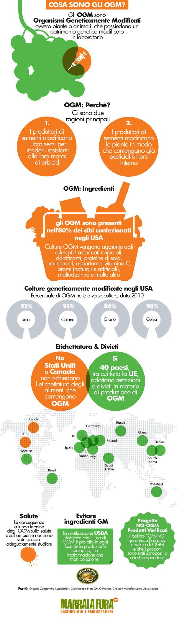 Infografica OGM