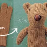 Creare uno scoiattolo di peluche (e tanti altri animali) da un vecchio guanto spaiato