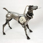 Creare con parti d'auto. <br /><b>Le sculture di James Corbett</b>