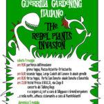 <b>The rebel plants invasion.</b> Il Raduno nazionale del Guerrilla Gardening Italiano il 4 e 5 maggio 2013