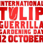 Il 12 ottobre 2013 torna (anche in Italia) l'<b>International Tulip Guerrilla Gardening Day</b>