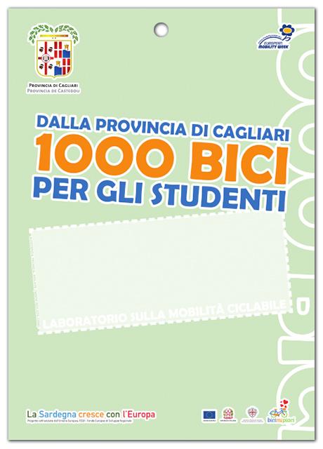 Dalla Provincia di Cagliari 1000 bici per gli studenti