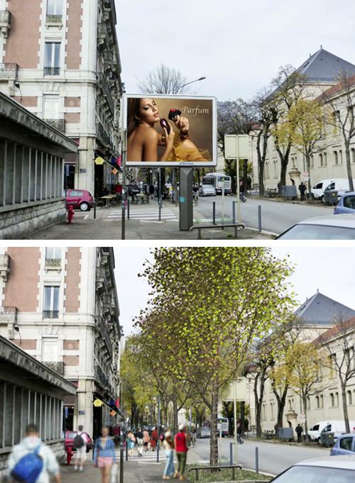 Pubblicita Grenoble Francia 03