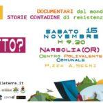 <b>Festival delle Terre.</b> A Narbolia (OR) e Cagliari il 15 e il 20-21 novembre 2014