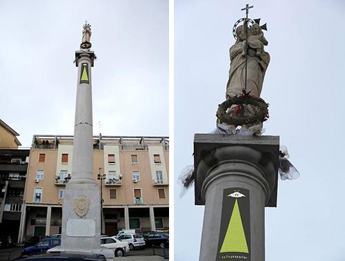 ExtraPedestri statua