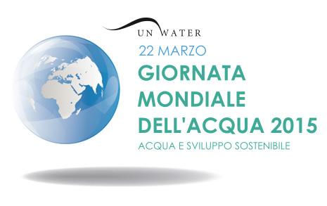Logo Giornata mondiale dell'acqua