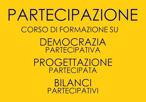 progettazione partecipata corso