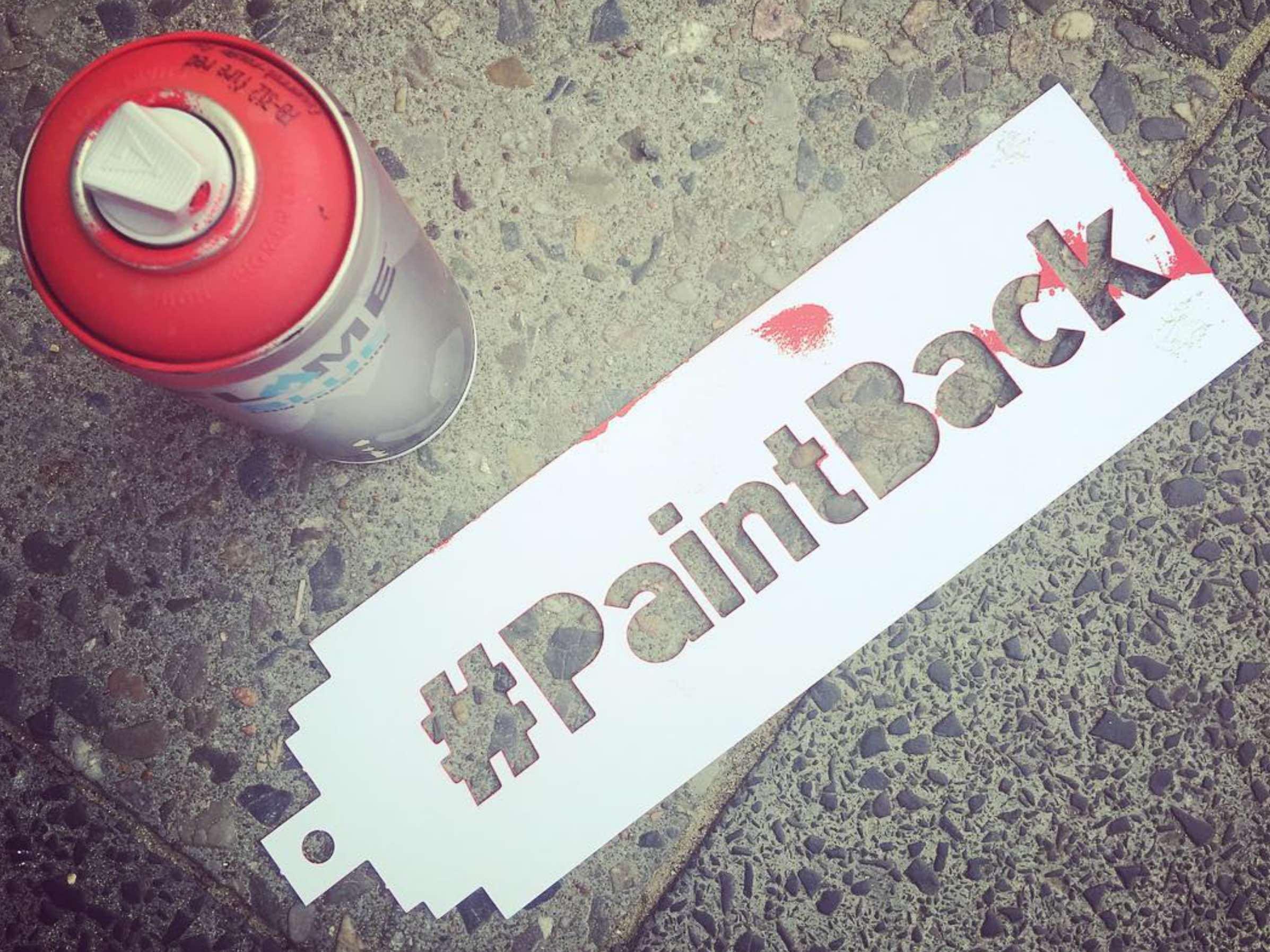 Paint Back - Stencil